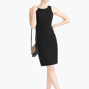 J Crew Black and White Sheath Dress Size 2